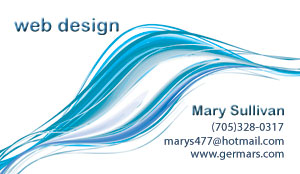 Mary Sullivan web design