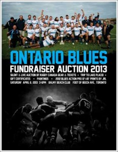 Ontario Blues Fundraiser Auction 2013