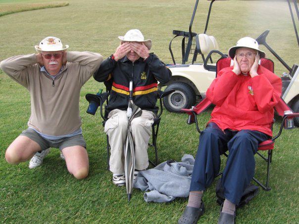 Dennis Newman, Alan Wild and Vince Jones