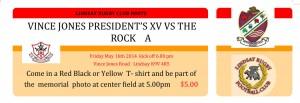 Rock Ground Ticket