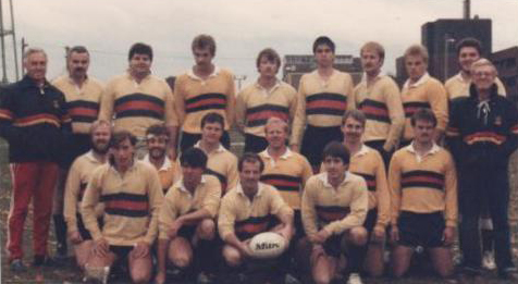 Alan far right in black LRFC jacket